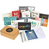 36 Pack Assorted All Occasion Greeting Cards - Includes Assorted Congratulations Hello Thank You Cards - Bulk Box Set Variety Pack with Envelopes Included 4 x 6 inches