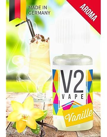 V2 Vape Vanilla Concentrate alta dosis de sabor a comida premium 10ml 0mg libre de nicotina