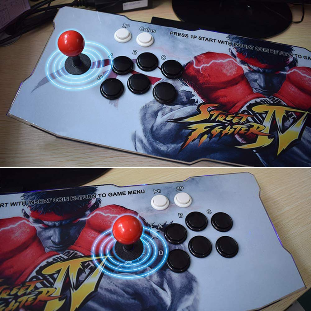 Arcade Game Console 1080P 3D & 2D Games 2350 in 1 King of Fighters Pandora's Box 3D 2 Players Arcade Machine with Arcade Joystick Support Expand 6000+ Games for PC / Laptop / TV / PS4 by MeetingU (Image #4)