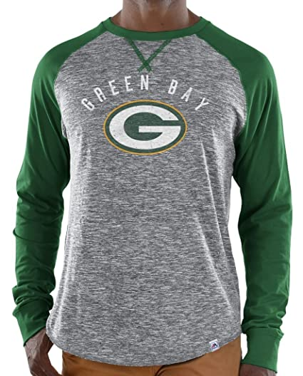 65d390729 Image Unavailable. Image not available for. Color  Green Bay Packers  Majestic NFL Full Out Blitz Men s Long Sleeve ...
