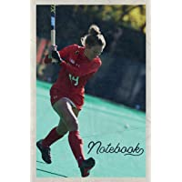 Notebook: Field Hockey Positions Beautiful Composition Book Journal