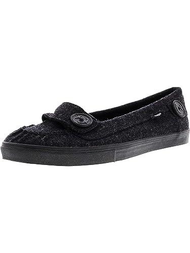 Vans Women s Ashland Feltish Black Ankle-High Fabric Slip-On Shoes - 10.5 370e66fd3