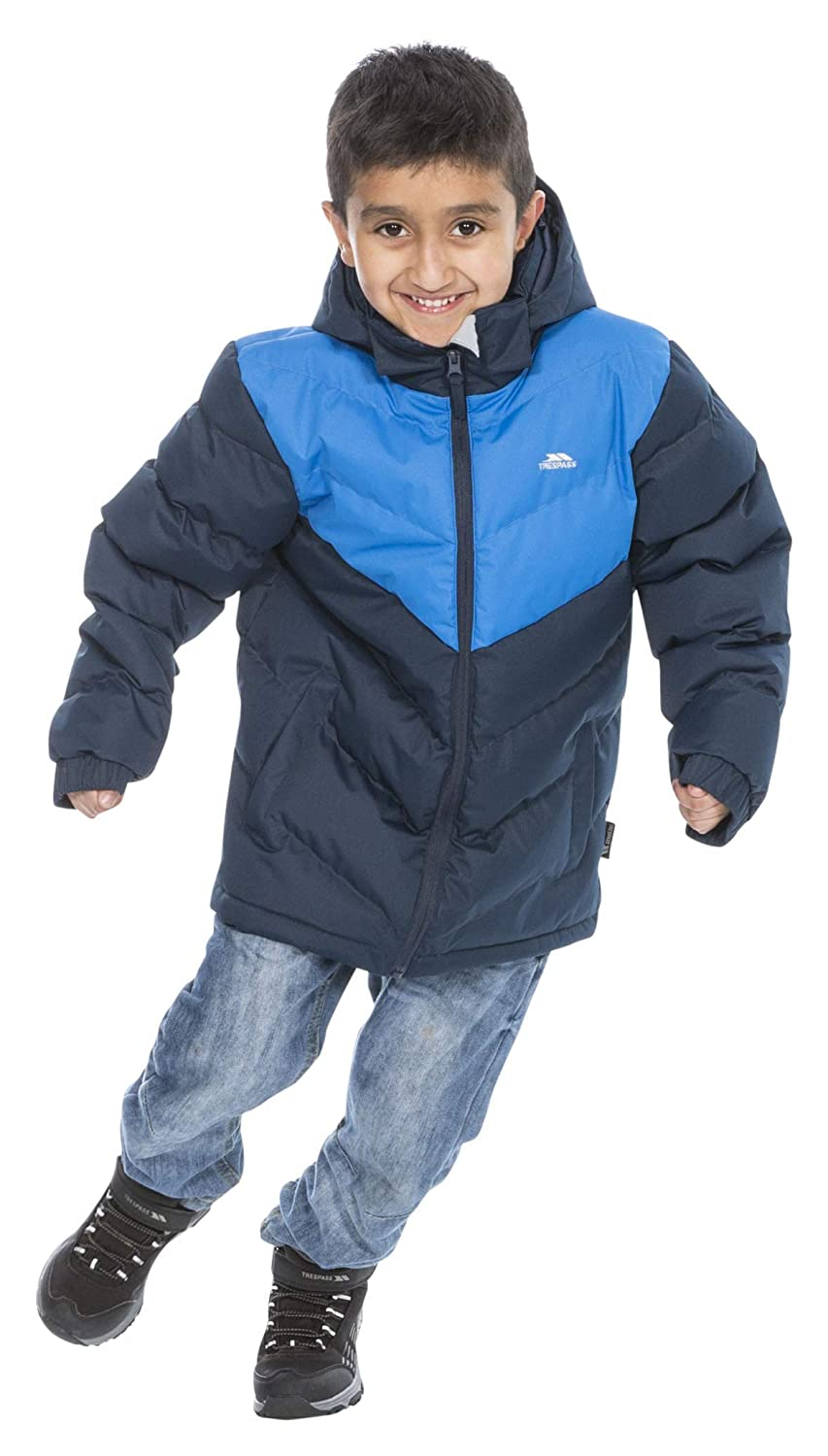 Trespass Childrens Luddi Warm Padded Waterproof Winter Jacket