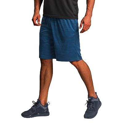 CYZ Men/'s Performance Running Shorts BlackCharcoal2PK-M