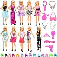 Miunana 10 Piezas Vestido Fashion Falda Mini Fiesta