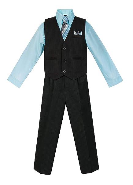 Amazon.com: Conjunto de chaleco y pantalón para niño ...