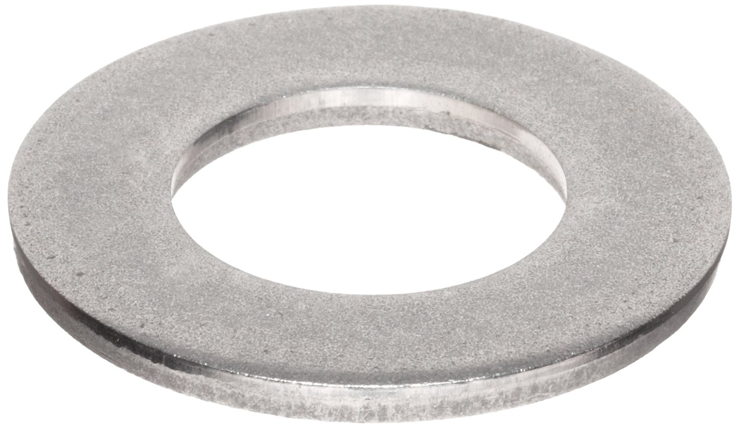 Meets DIN 125 2.2mm ID Pack of 100 M2 Hole Size 5mm OD Plain Finish 0.3mm Nominal Thickness 316 Stainless Steel Flat Washer