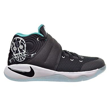 half off b92d3 a498e NIKE Kyrie 2 (GS) Court Deck Big Kid's Shoes Black/Hyper Jade/White  826673-001