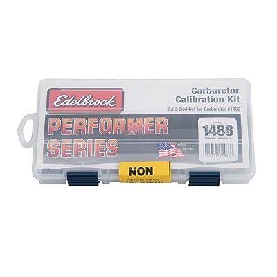 Edelbrock 1488 Performer Series Carburetor Calibration Kit: Automotive