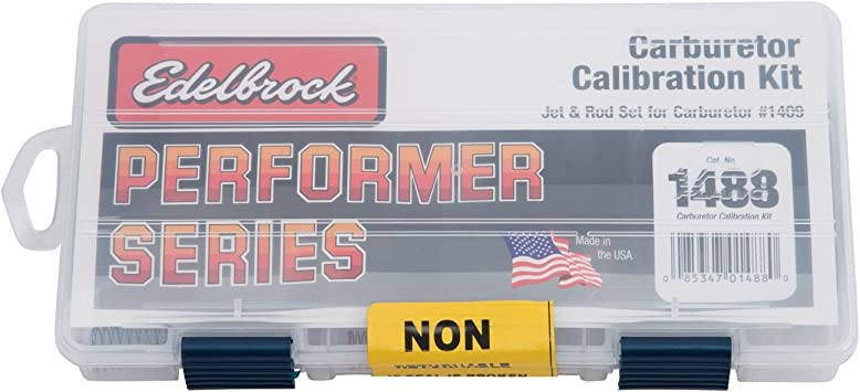Edelbrock 1487 Kit de calibración para Performer Series Carburador 1406