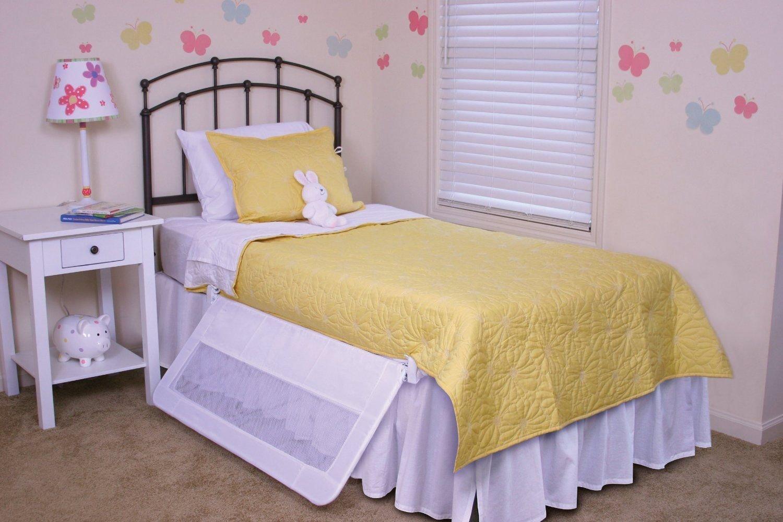 Amazon.com: Regalo Swing Down Bedrail Bed Rail Crib Toddler ...
