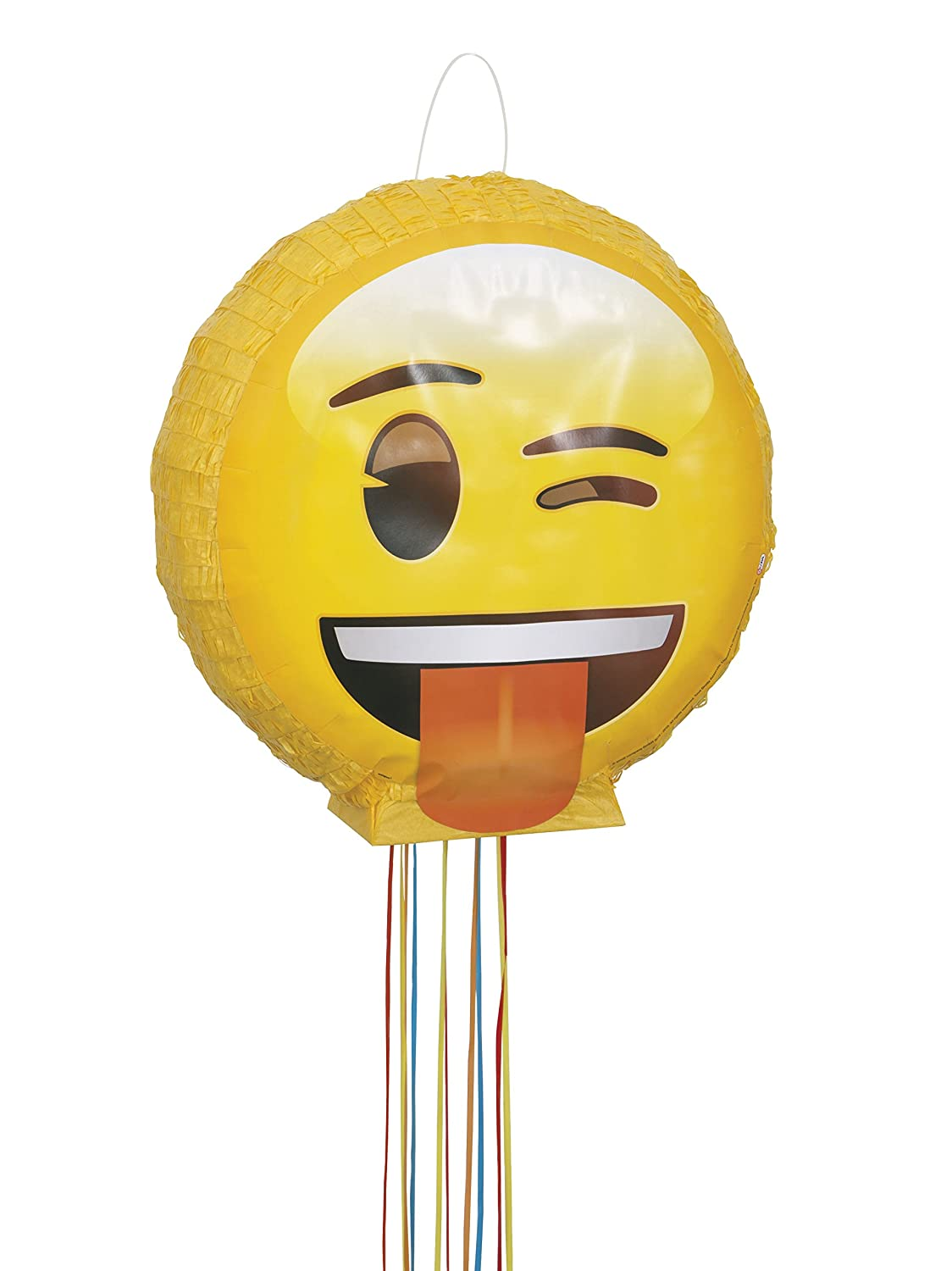 Winky with Tounge Sticking Out Emoji Pinata