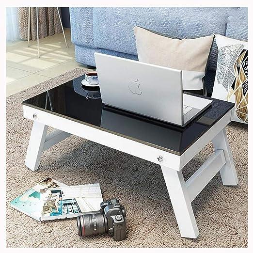 LLRDIAN Escritorio para Laptop Cama pequeña Mesa Plegable de ...