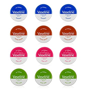 Vaseline Lip Balm 20g/0.705oz (12x20g/0.705, Aloe Vera) Dr. Hauschka Regenerating Neck and DГ©colletГ© Cream (1.3 fl oz)