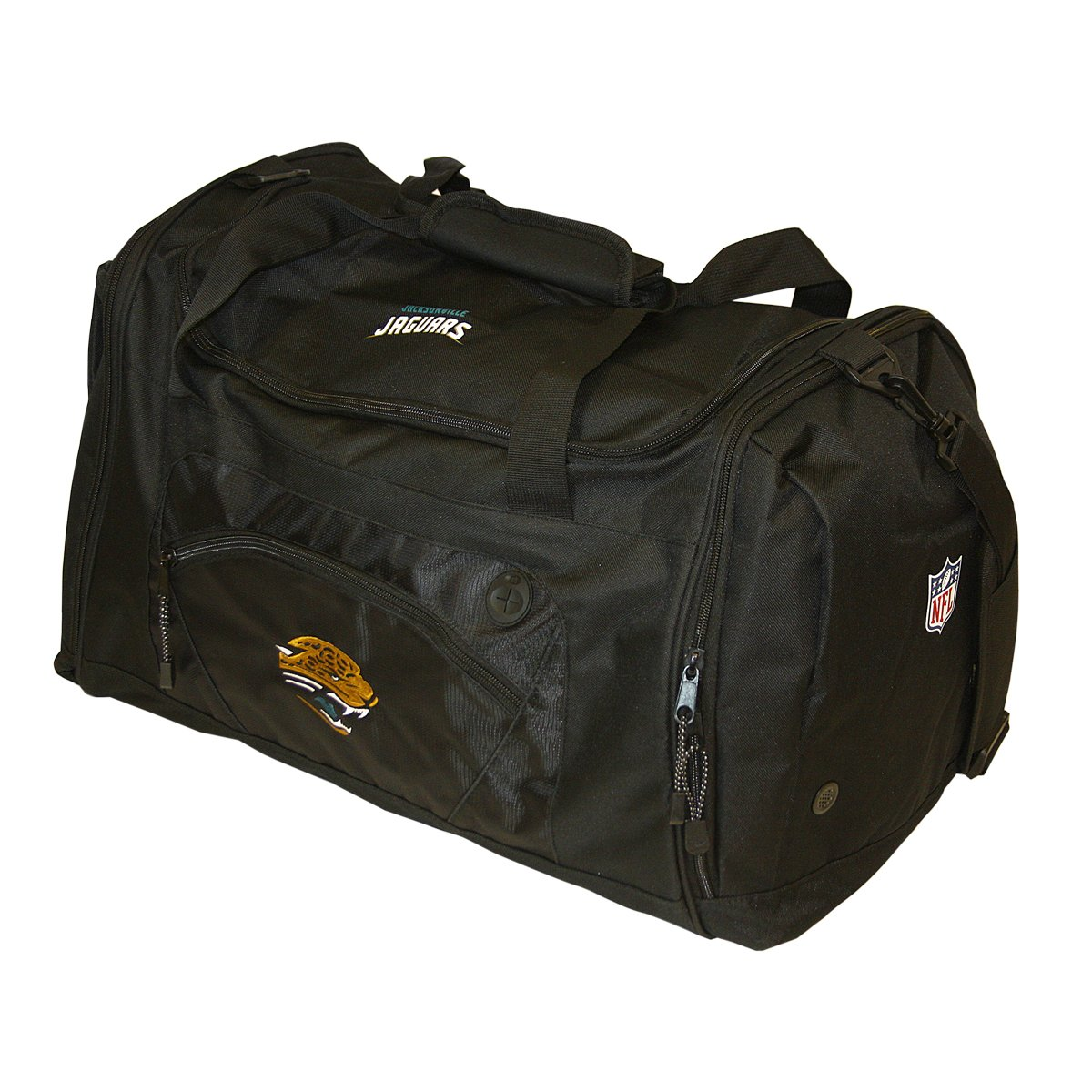 The Northwest Company Officially Licensed NFL Jacksonville Jaguars Roadblock Duffle