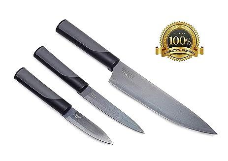 Dishwasher Safe Knife Set Elevate Knives Set Kitchen Knife Set Stainless  Steel Knife Set With Covers