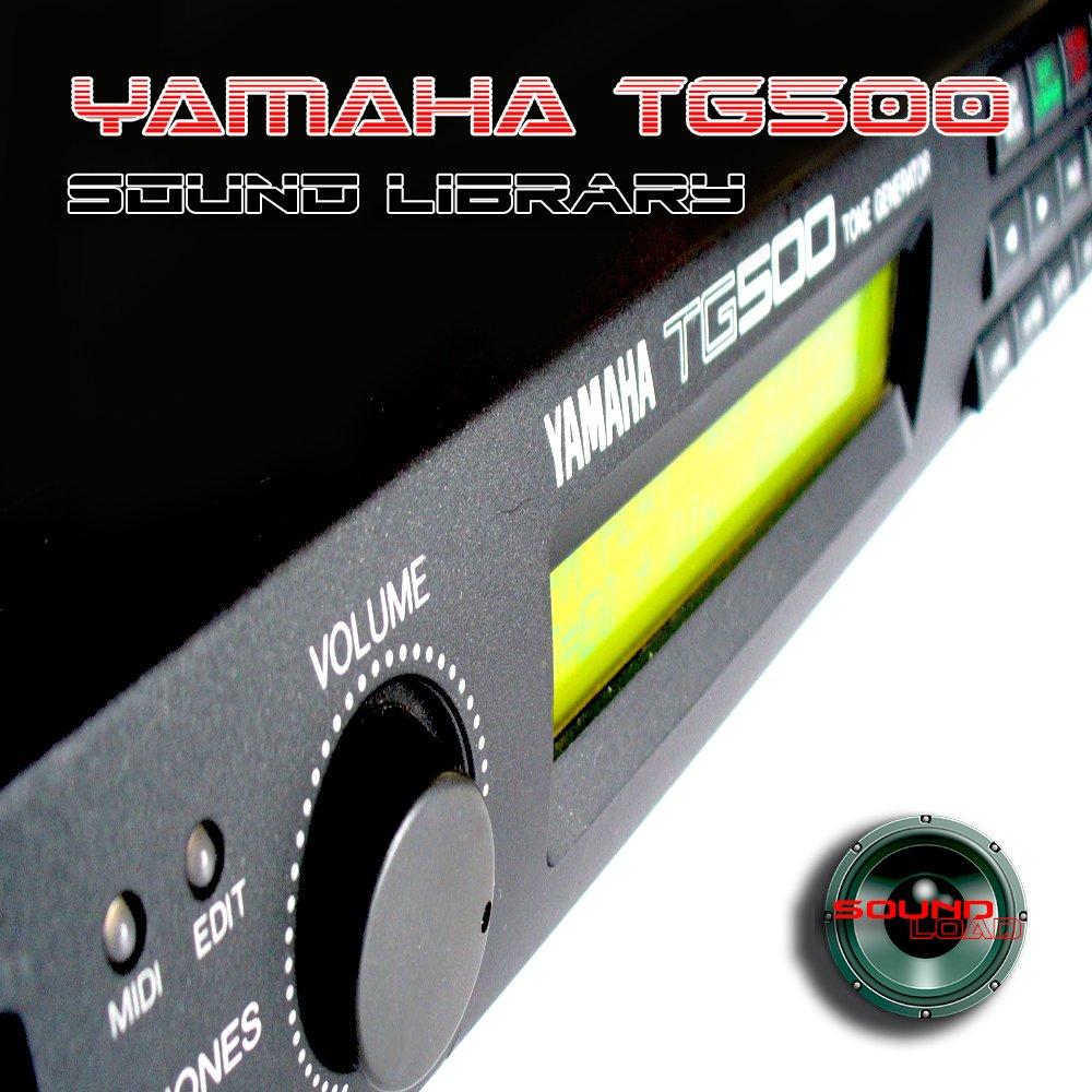 YAMAHA TG500 - the very Best of - Large unique original 24bit WAVE/Kontakt Multi-Layer Samples Library on DVD or download