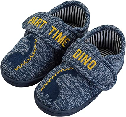LULEX - Zapatillas para niños pequeños (ante de algodón): Amazon ...