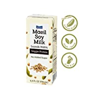 Maeil Soy Milk 99.89%, 6.4FL OZ(190mL) 24 Packs | Clean Label | No Additives | No...