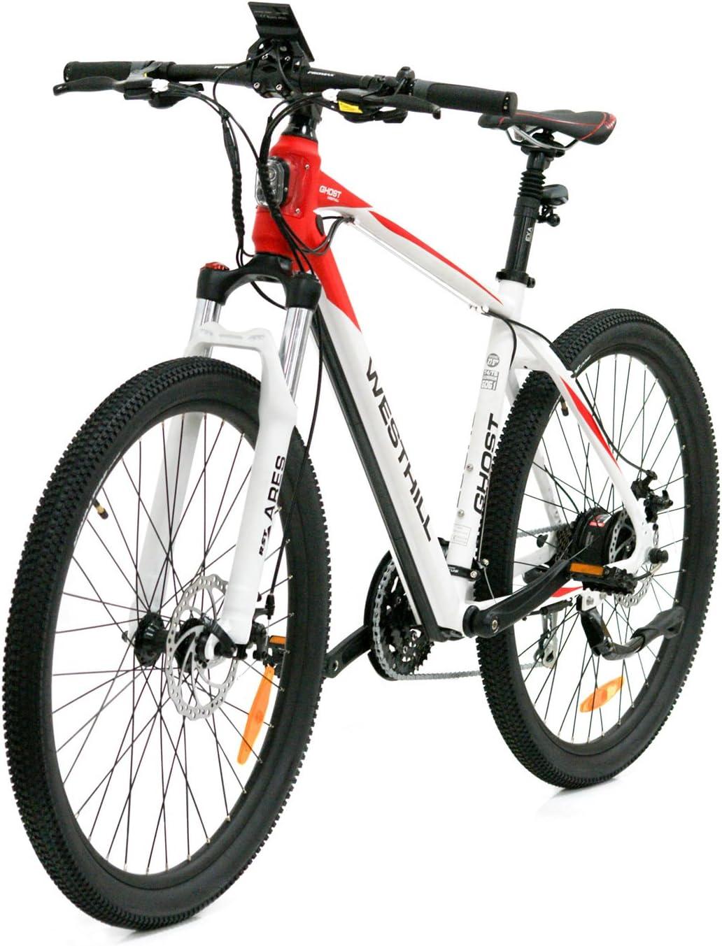 West Hill Ghost - Bicicleta de montaña eléctrica - Batería de ion ...