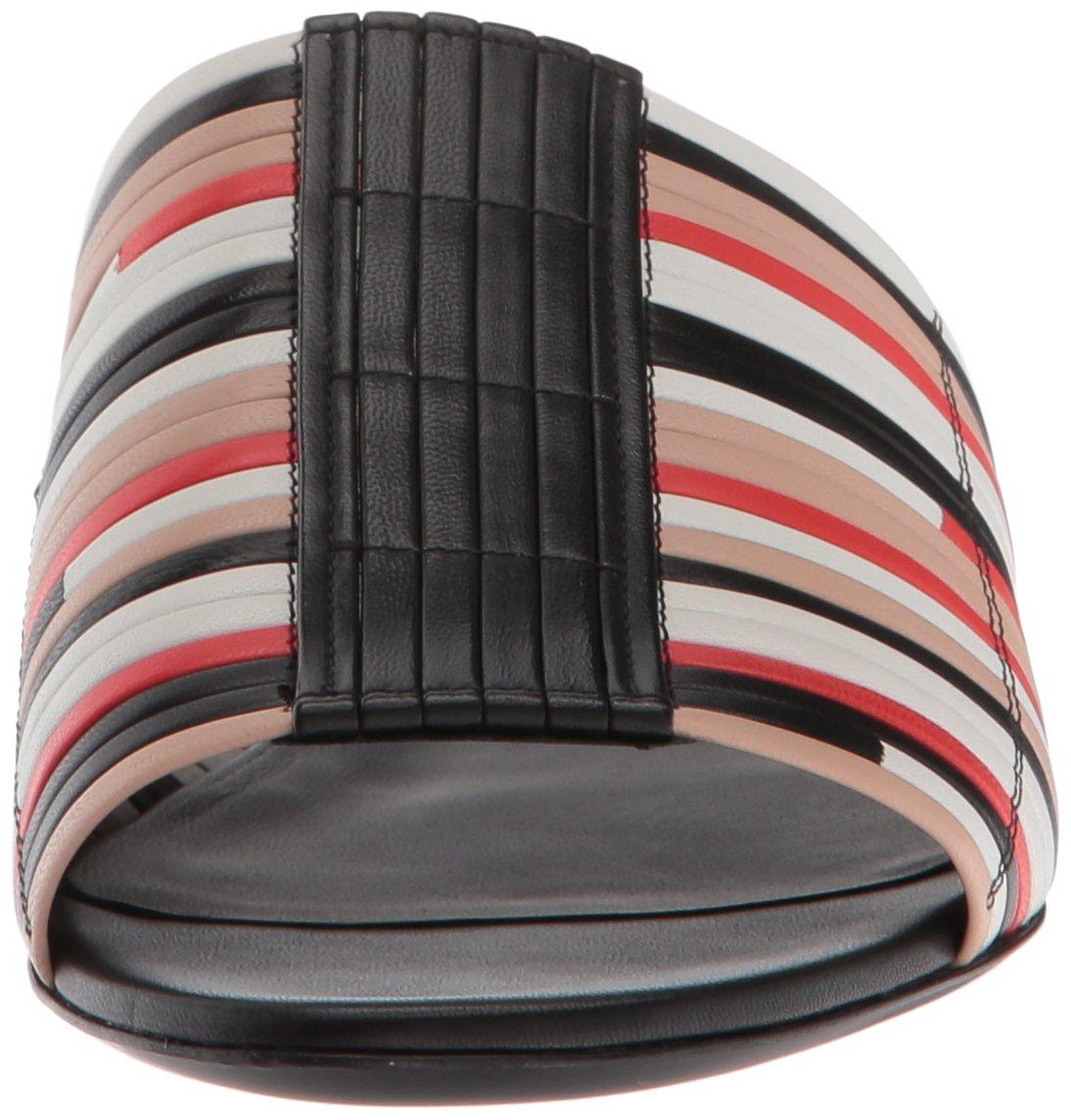 Via B07536XXKB Spiga Women's Harlotte Woven Slide Sandal B07536XXKB Via 10.5 B(M) US|Multicolor Leather e3c135
