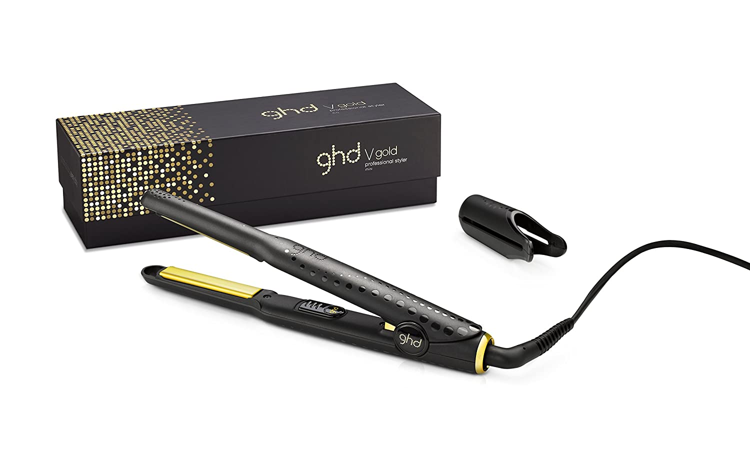 ghd Gold Mini Styler Plancha para el pelo color negro