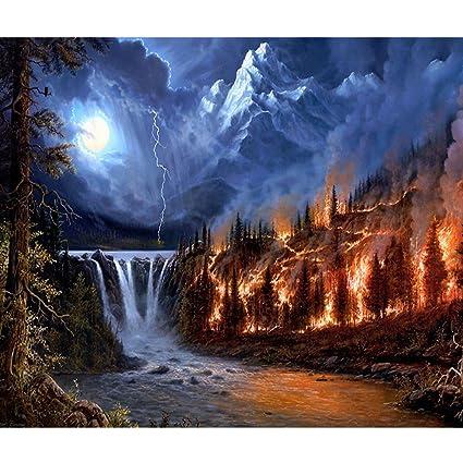 Diy Volcano Decoration