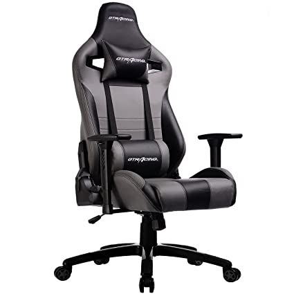 Merveilleux GTracing Ergonomic Racing Chair Recliner Gaming Chair Backrest And Seat  Height Adjustment Computer Office Chair With