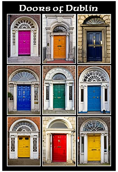 The Old Georgian Doors Of Dublin Poster 13 x 19in & Amazon.com: The Old Georgian Doors Of Dublin Poster 13 x 19in ... pezcame.com