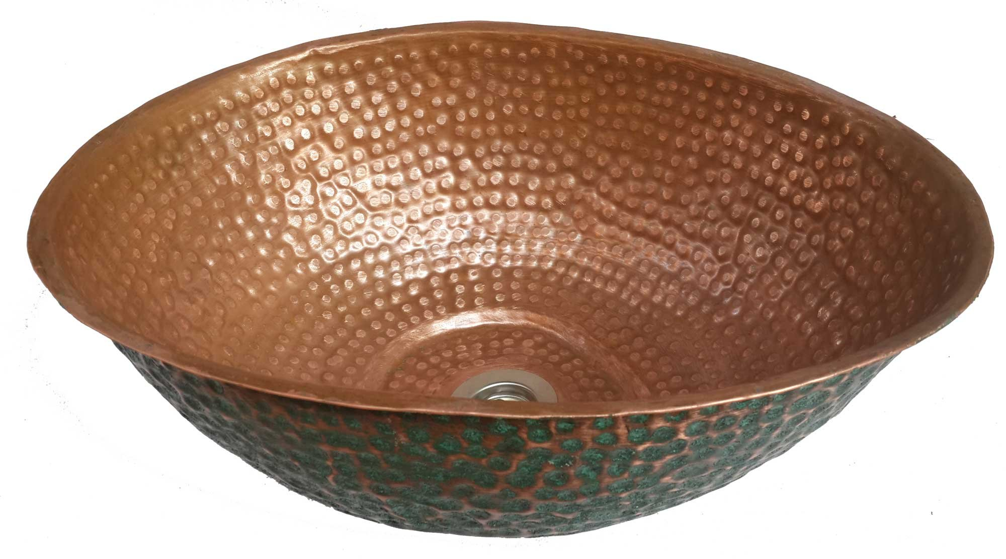 Egypt gift shops Egg Design Oxidized Vessel Sink Counter Top Wash Room Basin Bath Modeling by Egypt gift shops