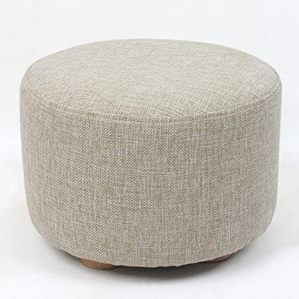STORAGE OTTOMANS Low Stool Change The Shoe Stool Round Stool Sofa Stool  Small Bench Cloth Small