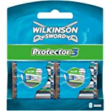 Wilkinson - Protector 3 - Lames de rasoir pour Homme - Pack de 8