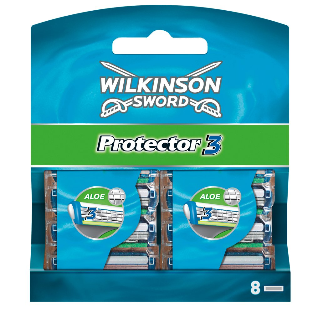 Wilkinson Sword Protector 3 Blades - Pack of 8 Blades product image