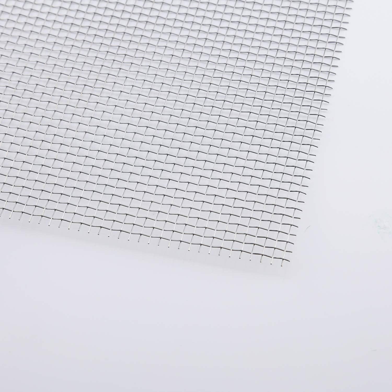 TOYMIS 304 Edelstahlgewebe Gewebter Draht 5 Maschen F/ür Die Bel/üftung Schutzgitter F/ür Metallschutzgitter Gartenschutzschr/änke Insgesamt 30cm x 60cm