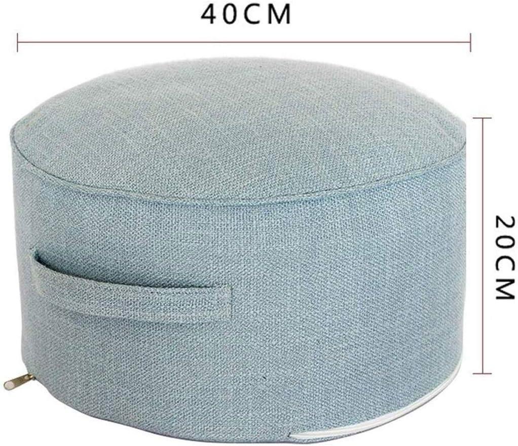 TJLSS Repose-Pieds - Amovible et Lavable en Tissu Tabouret Balcon Fenêtre Repose-Pieds Tabouret (Color : D) A