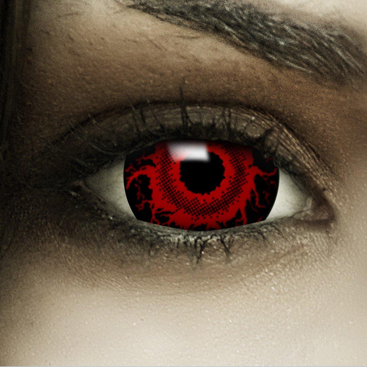lentilla roja disfraz tokio ghoul