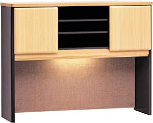 Bush Business Furniture Series A Collection 48W Hutch in Beech/Slate