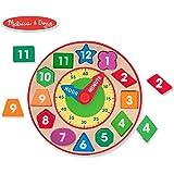Melissa&Doug 美丽莎和豆豆 图形分类钟(亚马逊进口直采,美国品牌)