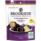 BROOKSIDE Dark Chocolate, Blackberry and Honey Flavours, 200g