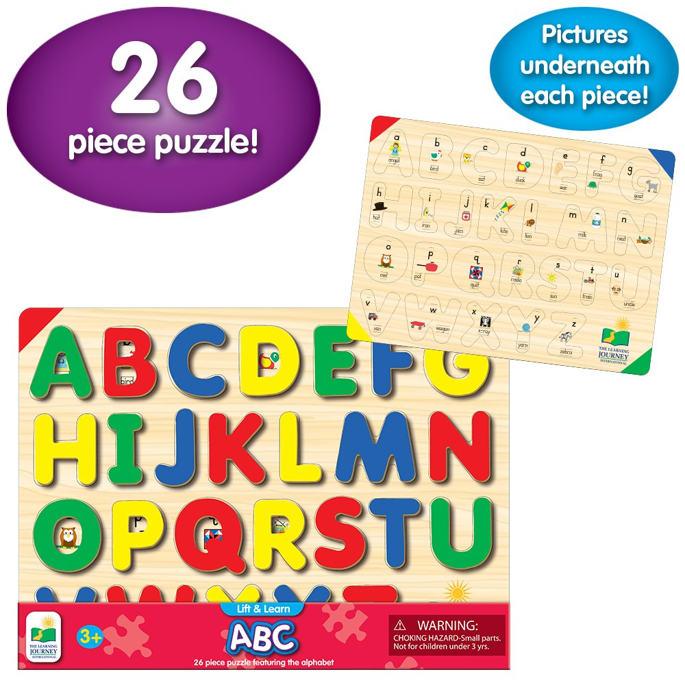 The Learning Journey: Lift & Learn ABC Puzzle