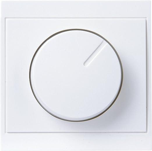Kopp 493320180 Druck-Wechsel-Dimmerabdeckung Abdeckung