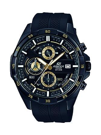 Casio Reloj Cronógrafo para Hombre de Cuarzo con Correa en Resina EFR-556PB-1AVUEF: Amazon.es: Relojes
