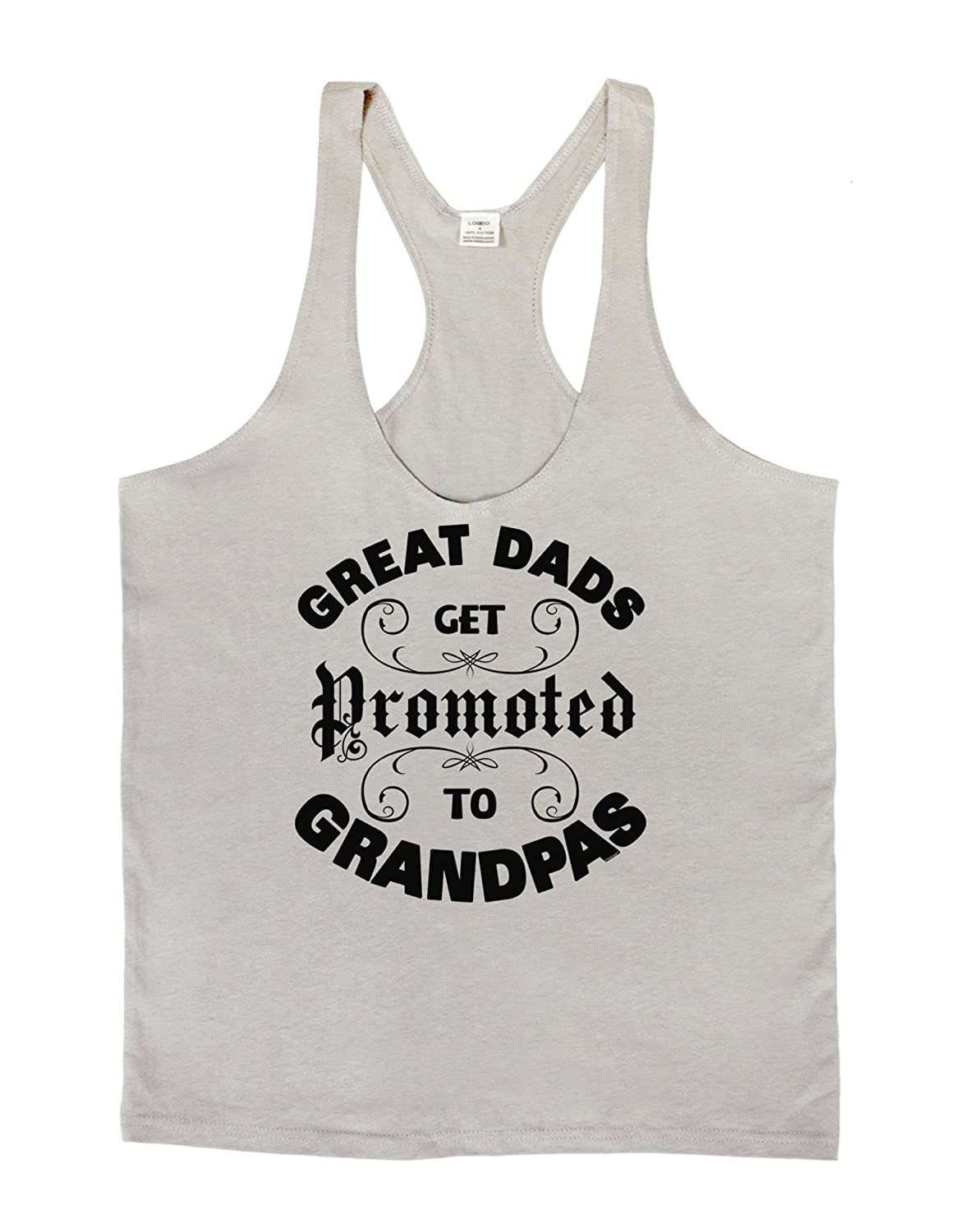 Great Dads get Promoted to Grandpas Mens String Tank Top