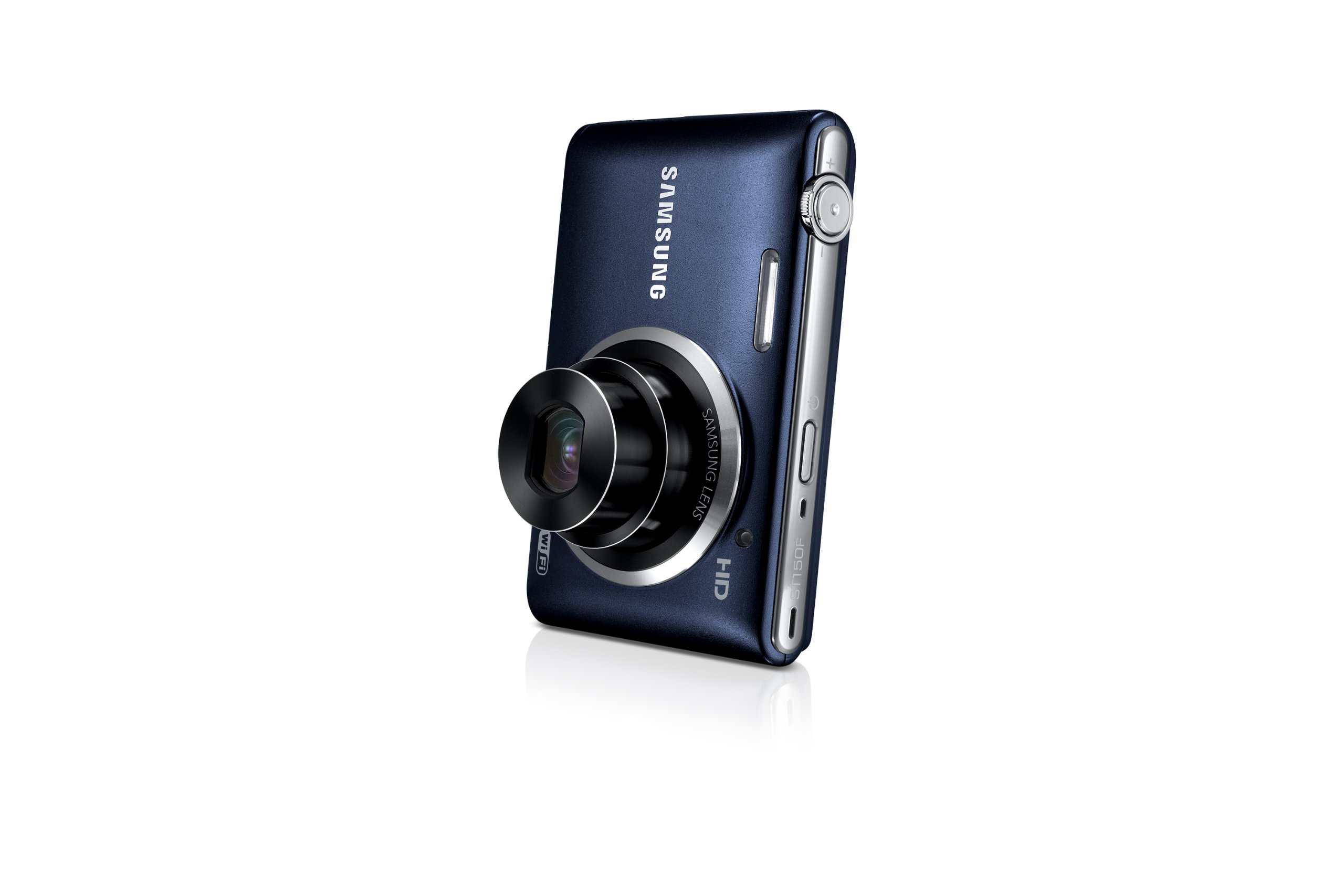 Samsung ST150F 16.2MP Smart WiFi Digital Camera with 5x Optical Zoom and 3.0'' LCD Screen (Black) by Samsung (Image #8)