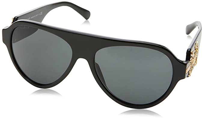 Versace 0Ve4323 Gafas de sol, Black, 58 para Hombre: Amazon ...