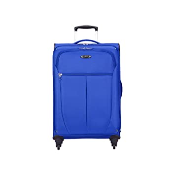 b6ee455c1 Amazon.com | Skyway Luggage Mirage Superlight 24-Inch 4 Wheel Expandable  Upright, Maritime Blue, One Size | Suitcases