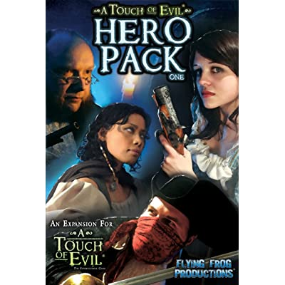 Flying Frog Productions A Touch of Evil Expansion Hero Pack One: Toys & Games