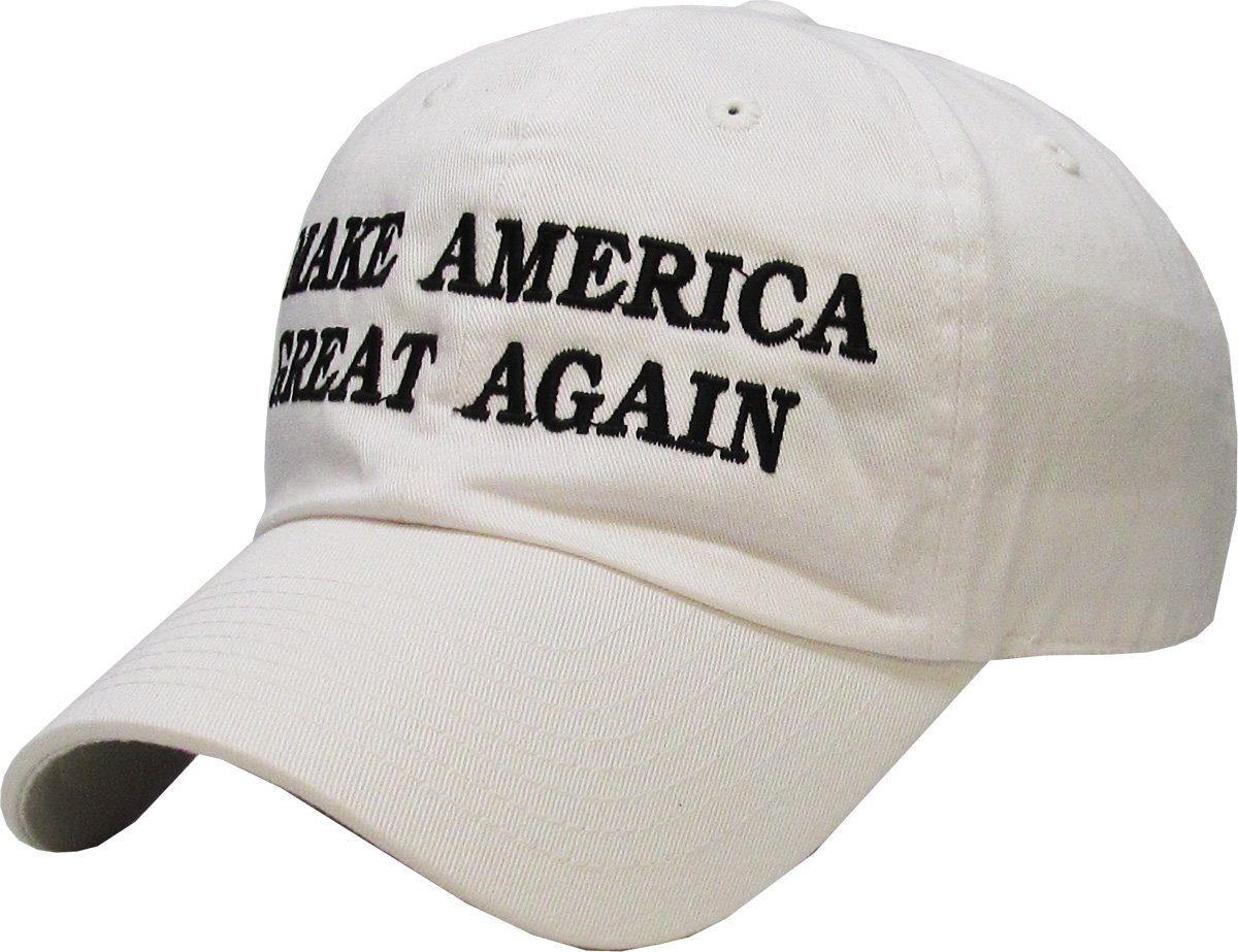 Make America Great Again - Donald Trump 2016 Campaign Cap Hat (002) Black KBETHOS FBA TRUMP002-BLK
