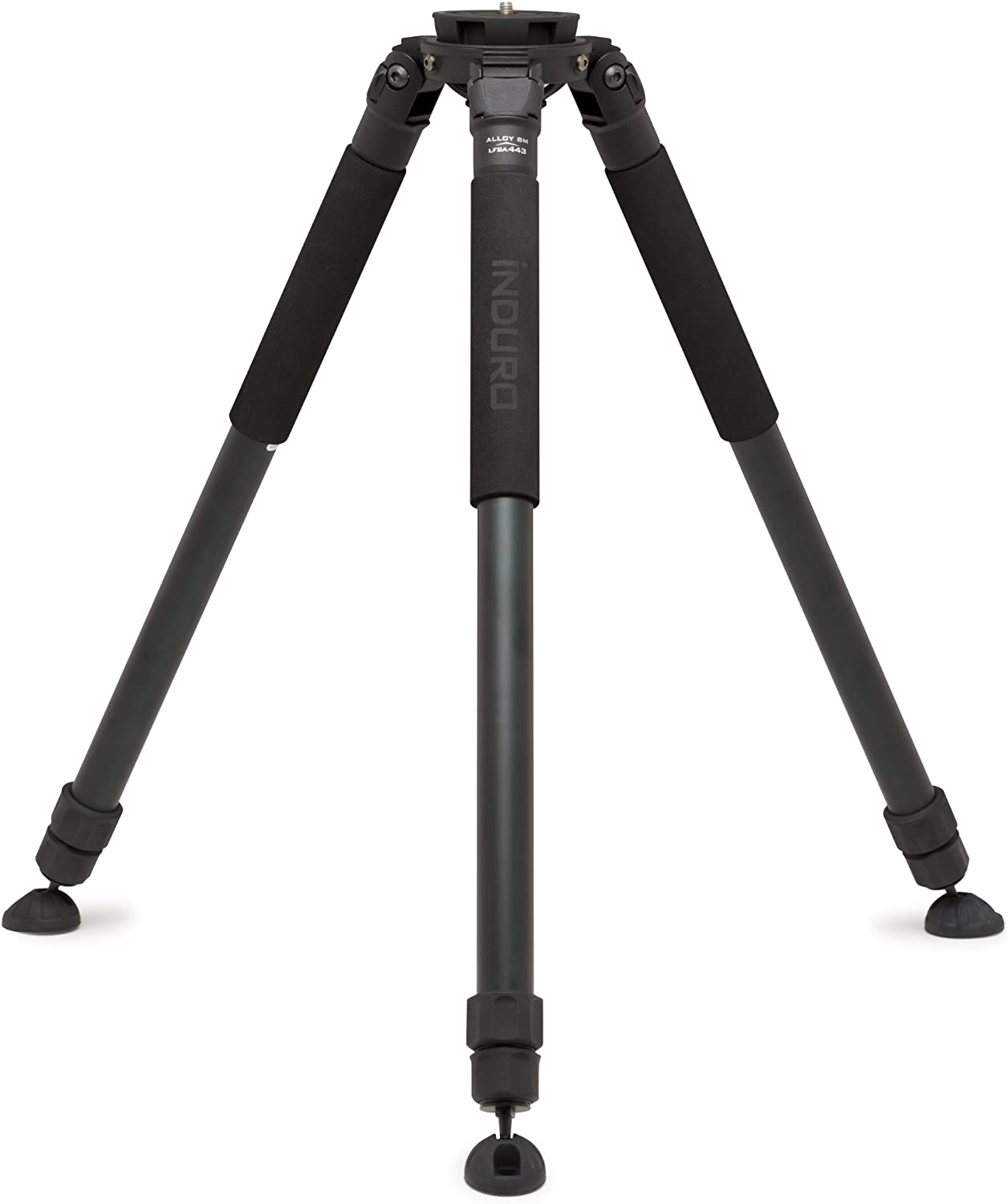 Black Induro Tripods 475-443 LFBA443S Alloy 8M 100mm Bowl Video Tripod