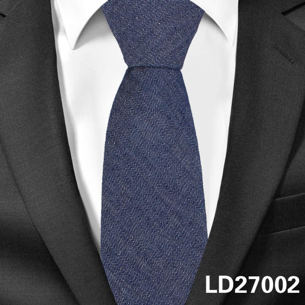 DYDONGWL Corbata Fina Hombre,Moda Jeans Corbatas para Hombres 6cm ...